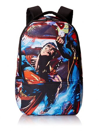 Superman All Over Printed 18 Inch Backpack