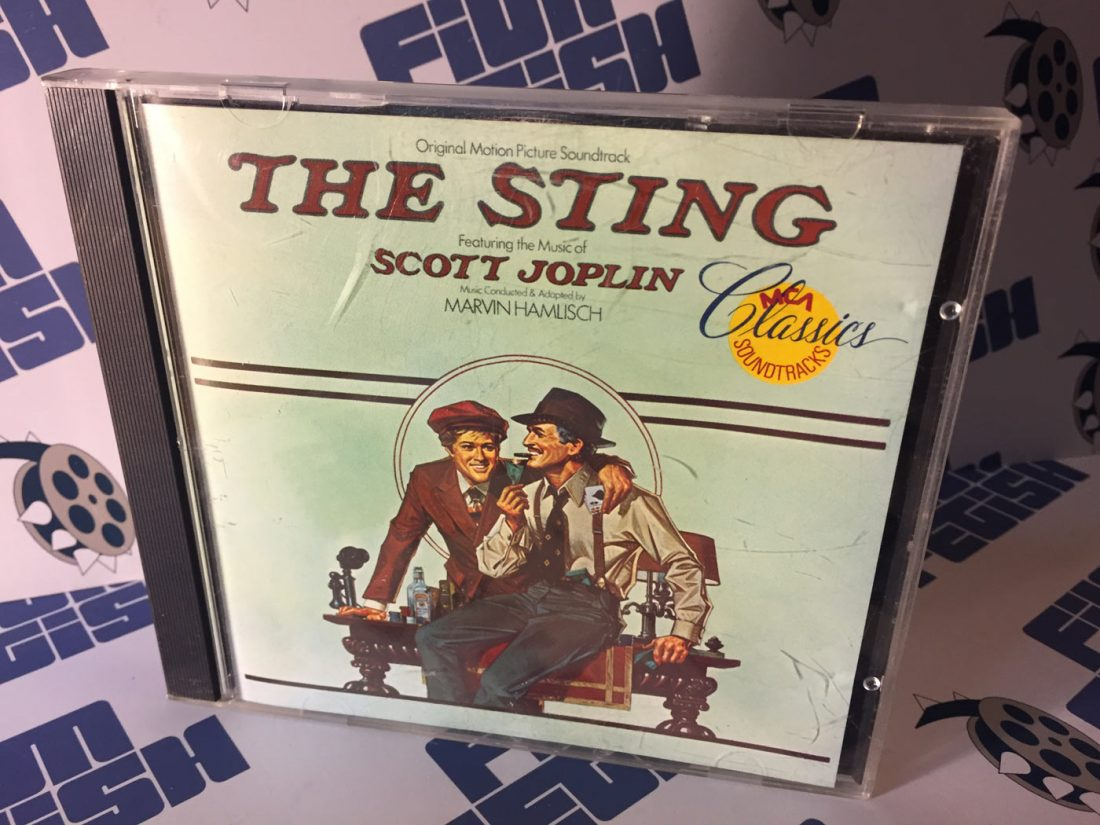 The Sting Original Motion Picture Soundtrack by Scott Joplin and Marvin Hamlisch