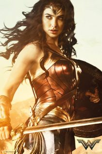 Wonder Woman – Sword and Shield 24 x 36 inch Movie Poster