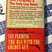 Ian Fleming's You Only Live Twice – First Paperback Edition (Signet P2712, July 1965)