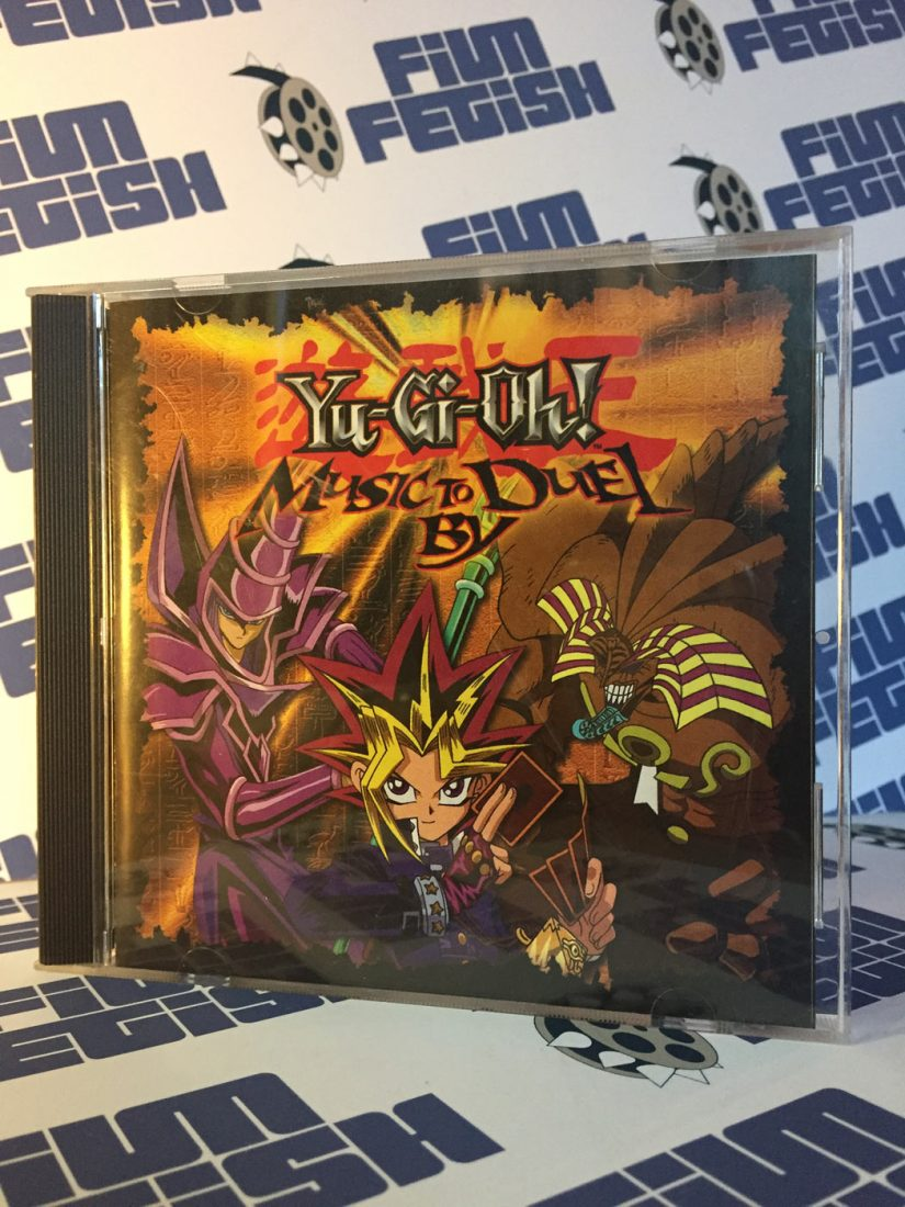 Yu-Gi-Oh Music to Duel By CD with Character Art Sticker Sheet