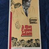 A Man Called Adam Original 14 x 36 inch Insert Movie Poster (1966)