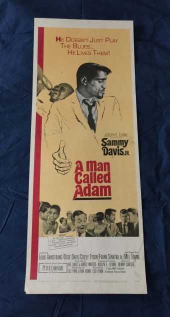 A Man Called Adam Original 14 x 36 inch Insert Movie Poster (1966)
