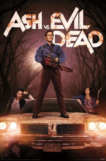 Ash vs Evil Dead 23 x 34 inch Television Series Key Art Poster