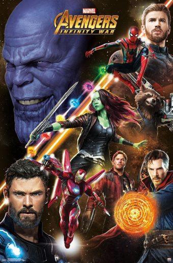 Avengers: Infinity War Challenge 22 x 34 inch Movie Poster 16235