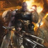 Avengers: Infinity War Evil Thanos Portrait 22 x 34 inch Movie Poster 16446