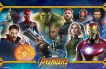 Avengers: Infinity War Team Collage 34 x 22 inch Horizontal Movie Poster 16447