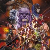 Avengers: Infinity War Universe 22 x 34 inch Movie Poster