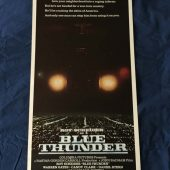 Blue Thunder Original Insert 14 x 36 inch Movie Poster