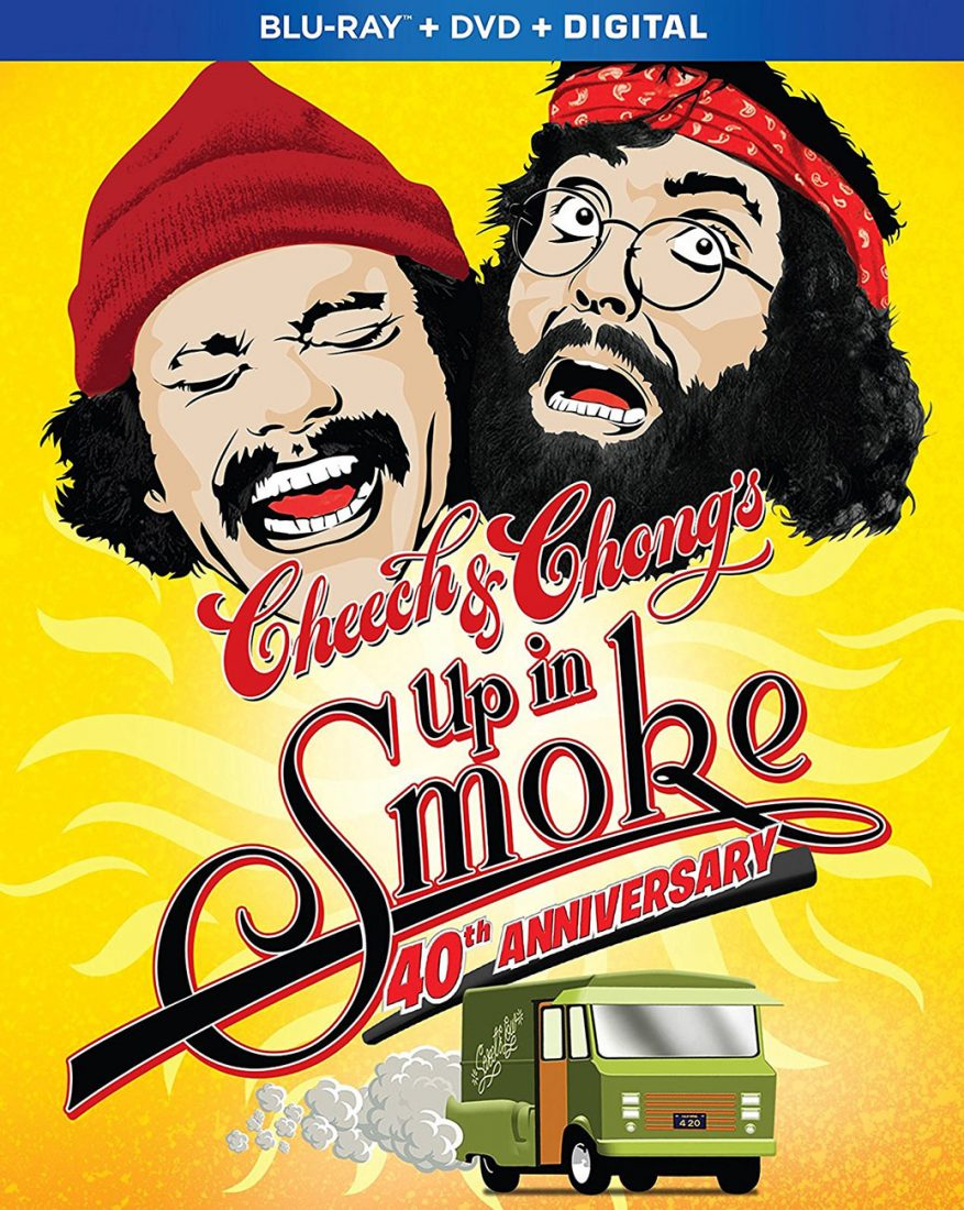 Cheech and Chong's Up in Smoke 40th Anniversary 2-Disc Blu-ray + DVD Edition
