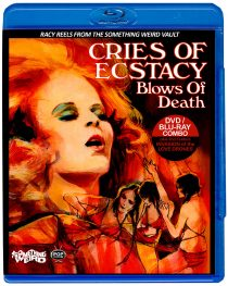 Cries of Ecstasy, Blows of Death / Invasion of the Love Drones Blu-ray + DVD Combo Set