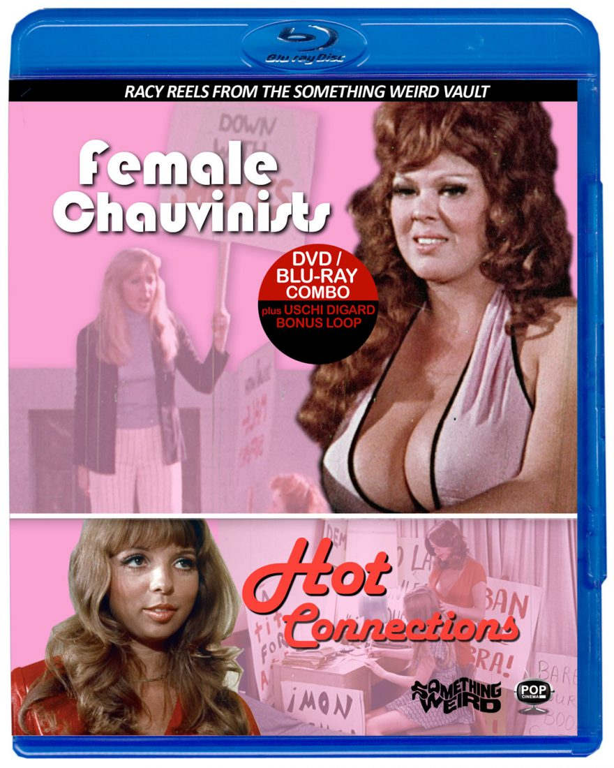 Female Chauvinists + Hot Connections – Racy Reels from the Something Weird Vault Volume 2 Blu-ray Edition