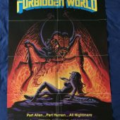 Forbidden World Original 27 x 40 inch Movie Poster (1982)