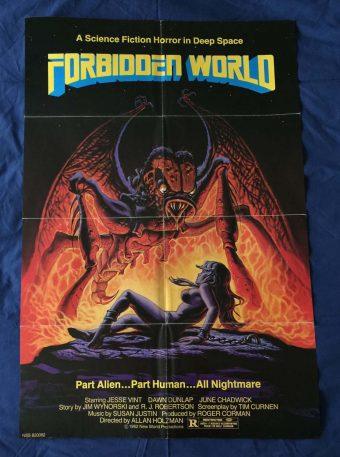 Forbidden World Original 27 x 40 inch Movie Poster (1982)