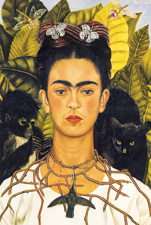 Frida Kahlo Self Portrait 24 x 36 inch Art Poster