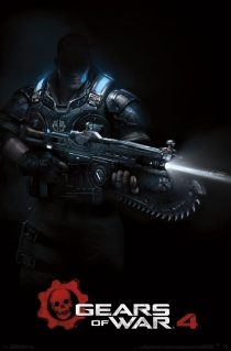 Gears of War 4 Teaser 23 x 34 inch Game Poster