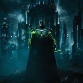 Injustice 2 Batman Portrait Key Art 22 x 34 inch Video Game Poster