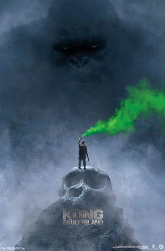 Kong: Skull Island Green Mist 22 x 34 inch Teaser Movie Poster