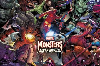 Marvel Monsters Unleashed 22 x 34 inch Comics Poster