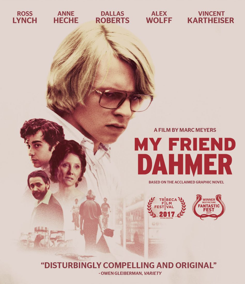 My Friend Dahmer Blu-ray Edition
