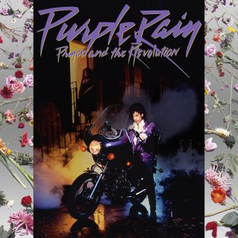 Prince and the Revolution Purple Rain 2015 Paisley Park Vinyl Remaster Overseen by Prince + Poster