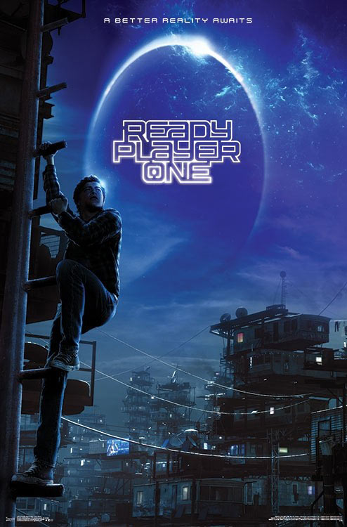Ready Player One 22 x 34 inch Movie Poster