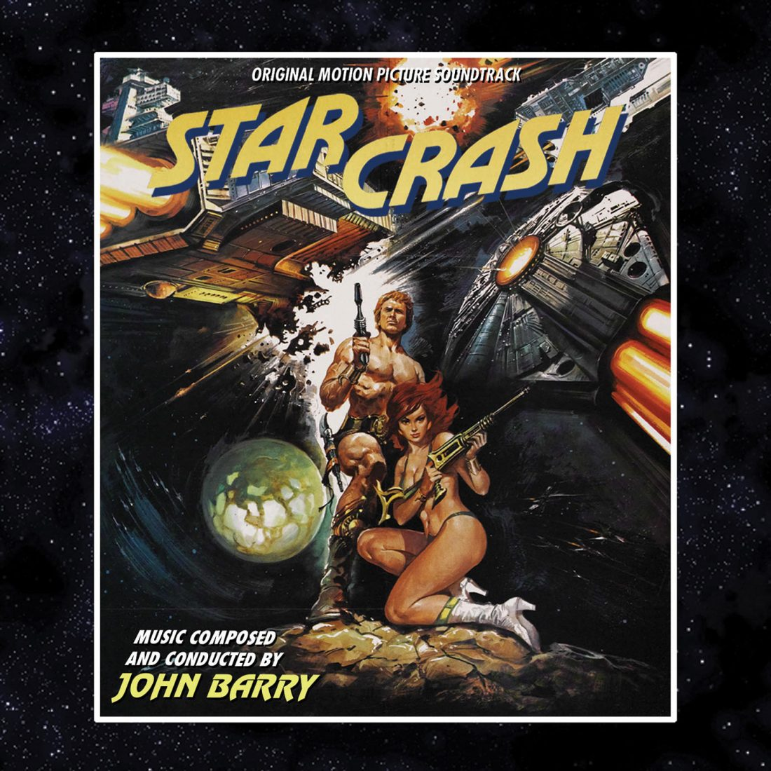 Starcrash Original Motion Picture Soundtrack Album – Music by John Barry