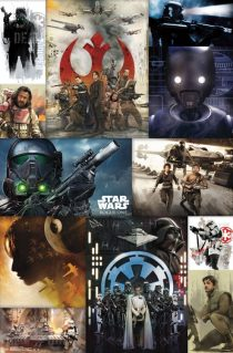 Rogue One: A Star Wars Story Character Collage 23 x 34 inch Movie Poster