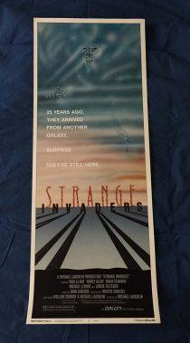 Strange Invaders Original Insert 14 x 36 inch Movie Poster (1983)