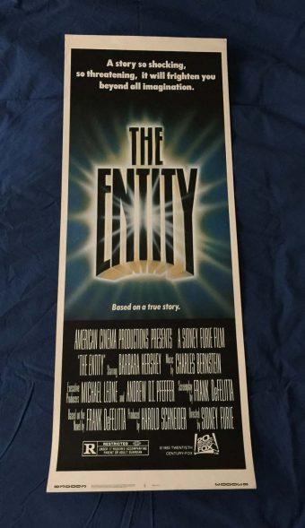 The Entity Original Insert 14 x 36 inch Movie Poster (1982)