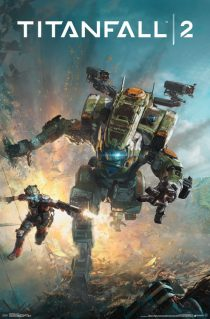Titanfall 2 Key Art 23 x 34 inch Game Poster