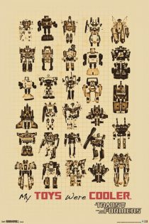 Transformers – My Toys Were Cooler Diagram 24 x 36 inch Poster