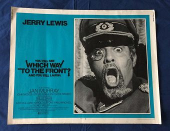 Which Way to the Front Original Half Sheet 28 x 22 inch Movie Poster