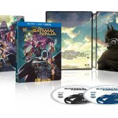 Batman Ninja Collector's Steelbook Edition Blu-ray + DVD + Digital Edition