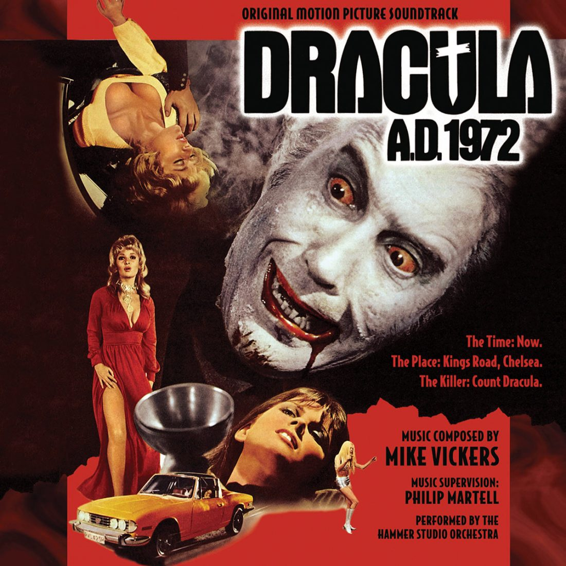 Dracula A.D. 1972 Original Motion Picture Soundtrack Composed by Mike Vickers