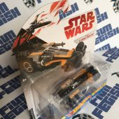 Star Wars: The Last Jedi Hot Wheels Car Ships Poe Dameron's X-Wing Fighter