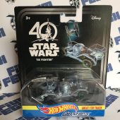 Star Wars Episode IV: A New Hope 40th Anniversary Hot Wheels Car Ships Tie Fighter