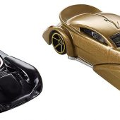 Star Wars: The Last Jedi Hot Wheels Character Cars Kylo Ren and Snoke 2-Pack Set