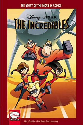 The Incredibles: The Story of the Movie in Comics