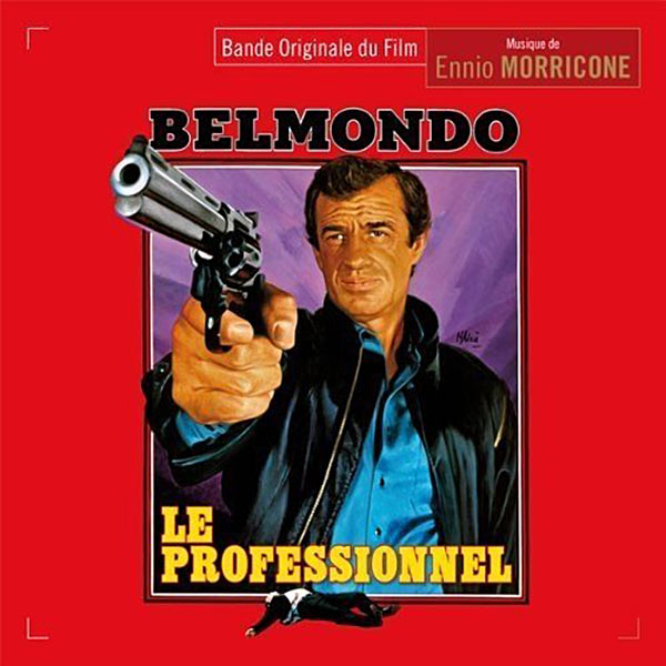The Professional (Le Professionnel) Original Music Soundtrack Composed by Ennio Morricone