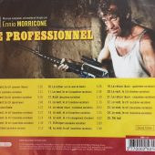 The Professional (Le Professionnel) Original Music Soundtrack Composed by Ennio Morricone