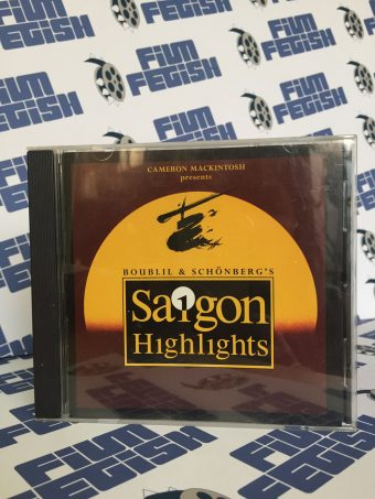 Miss Saigon Highlights Cast Musical Performances CD
