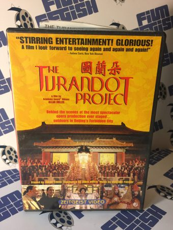The Turandot Project DVD