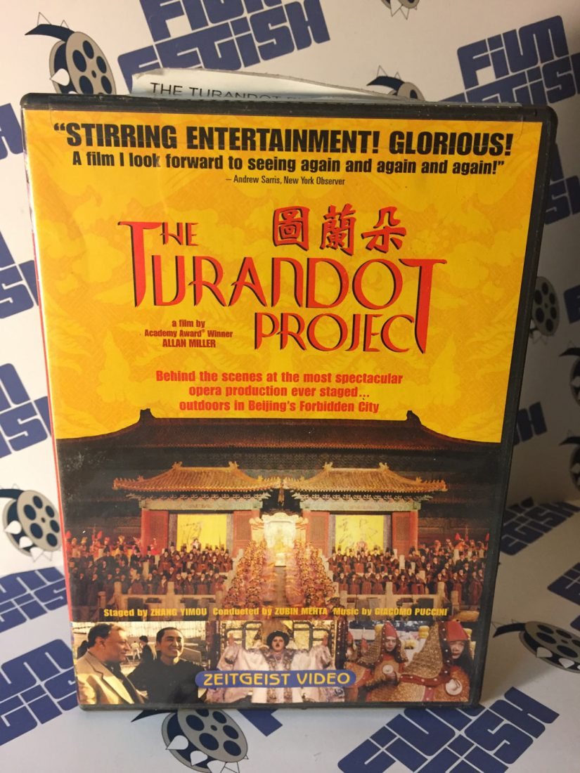The Turandot Project DVD