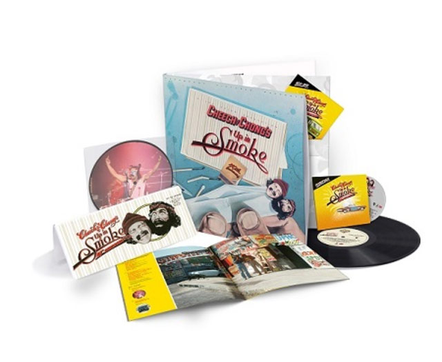 Up in Smoke 40th Anniversary Limited Edition Deluxe Collection – Vinyl + CD + Blu-ray + Photo Book + Poster
