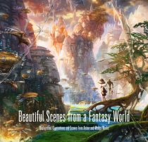 Beautiful Scenes from a Fantasy World – Background Illustrations and Scenes from Anime and Manga Works