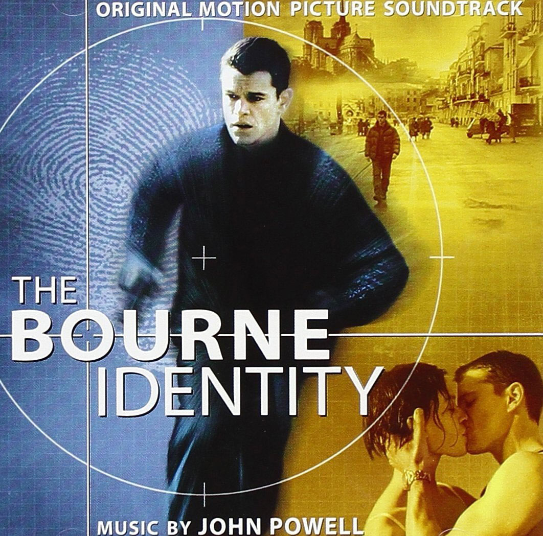 The Bourne Identity Original Motion Picture Soundtrack Album – Music by John Powell