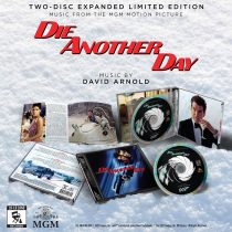 Die Another Day Limited Edition Music from the Motion Picture Soundtrack Album by David Arnold