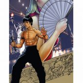 Darby Pop Bruce Lee: The Dragon Rises #1 NYCC 11 x 17 inch Convention Exclusive Lithograph