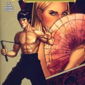 Bruce Lee: The Dragon Rises Issue 1, Cover B by Frank Cho (2016)